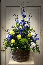 Beautiful Sympathy Basket