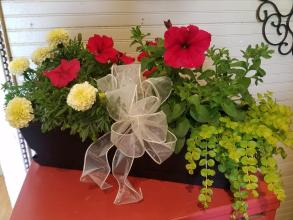 Traditional Flower Box