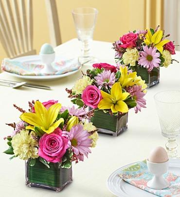 Easter Centerpiece Trio