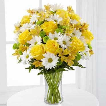 The Sunny Sentiment Bouquet